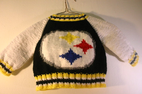 Baby Steelers Jacket - Back