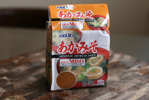 red miso