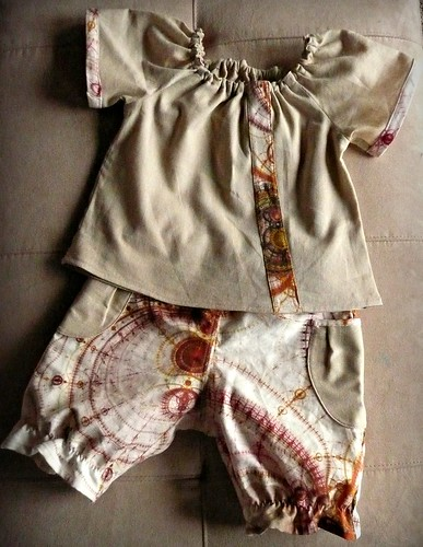 Ofelia Blouse with Bloomers
