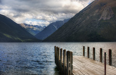 The Dock to Forever (Stuck in Customs) Tags: new travel newzealand sky panorama lake mountains color water clouds digital outdoors photography pier blog high dock nikon dynamic stuck natural empty scenic zealand valley processing imaging wilderness february range plank hdr tutorial trey customs 2010 ratcliff hdrtutorial stuckincustoms d3x treyratcliff photographyblog stuckincustomscom