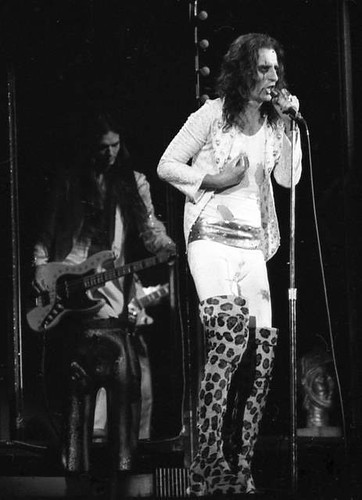 Alice Cooper/Billion Dollar Babies Tour 1973 | Flickr - Photo Sharing!