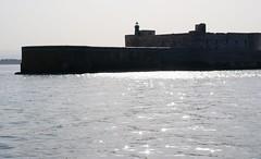 Siracusa-Ortigia, Bootsfahrt, Fort Maniace (boat tour) (HEN-Magonza) Tags: italien italy italia syracuse sicily sicilia siracuse sizilien syrakus castellomaniace siracusaortigia fortmaniace maniacefortress