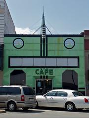 Cafe on Broad Street / Gadsden, Alabama (steveartist) Tags: architecture buildings cafe bars alabama restaurants artdeco diners cafes gadsden vitrolite 504broadstreet