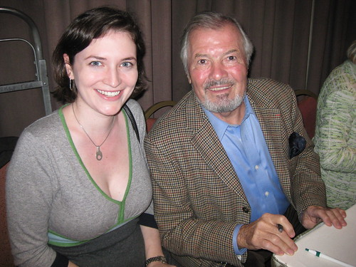 Kate with Jacques Pépin