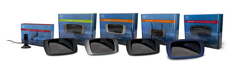 Linksys E-Series Family with Packaging