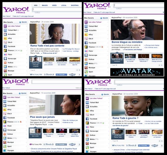 Yahoo portraits