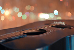 Guitar Bokeh !! (Nas t) Tags: