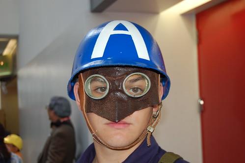 WonderCon 2010: Cap's Helmet