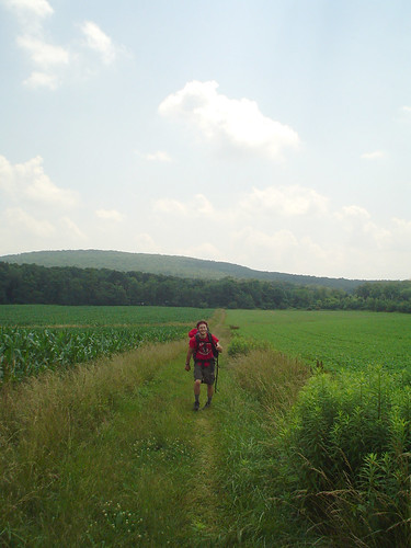 Hiker outside Boiling Springs