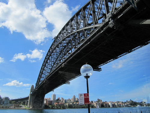 Sydney Harbour Bridge from Sydney Explorer Bus