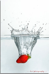 ...at last strawberries again !! (tzil) Tags: red water canon strawberry strawberries delicious splash rosso fragola fragole funphotography tzil anawesomeshot infinestyle theunforgettablepictures