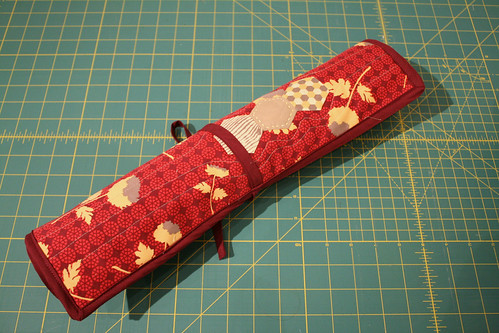 Quilted Knitting Needle Case