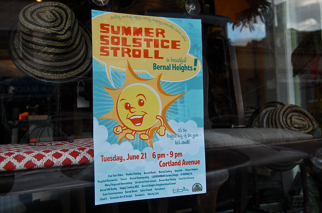 Come to Cortland for the Summer Solstice Stroll, Tuesday!