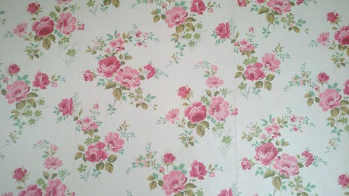 Master bedroom wallpaper, shortly before its demise