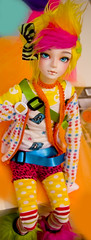 The Rainbow Child (Frappzilla) Tags: fruits rainbow doll bjd decora circa waffle abjd customhouse hyun aidolls theai