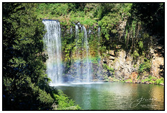 Dangar Falls (juliewilliams11) Tags: waterfall water summer february rainbow rock landscape newsouthwales australia river green