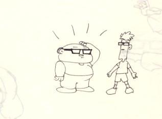 Bob and Milton (Circa 1999)
