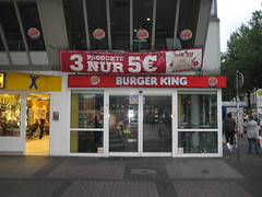 Geschlossene BurgerKing-Filiale in Bochum (Kortumstr.)