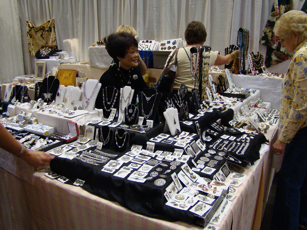 DSC02774 Susan Christie Jewelry Booth