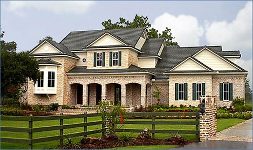 Country Home Plan With a Quaint
