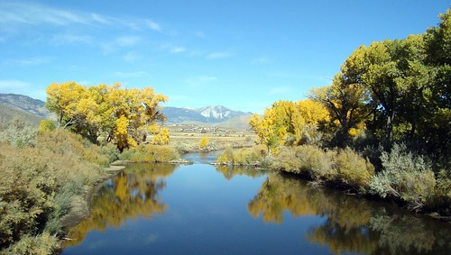 Carson River in Fall 2009
