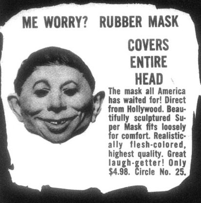 rubber mask