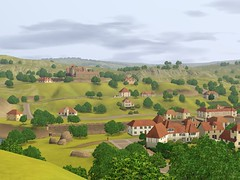 Murano: France - Look at the Castle por The Sims 3 Simposium