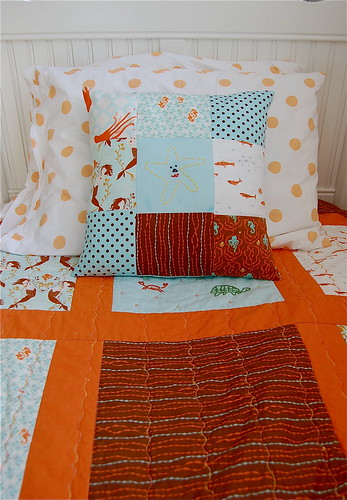 Mira's Patchwork Pillow