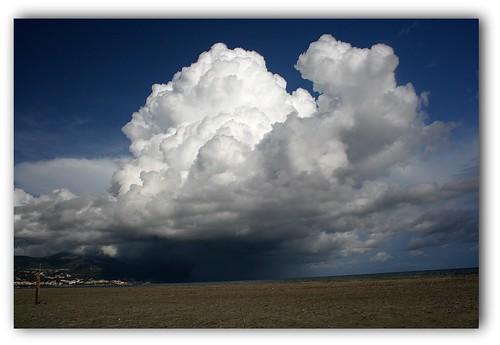 Crash nuageux