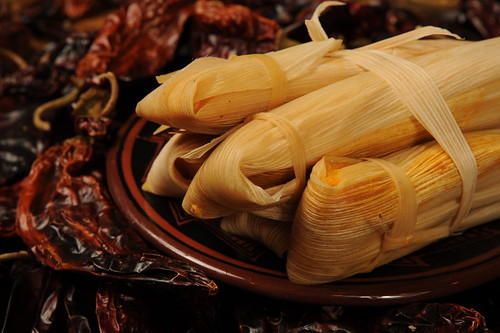 Smoky Sweet Potato Tamales