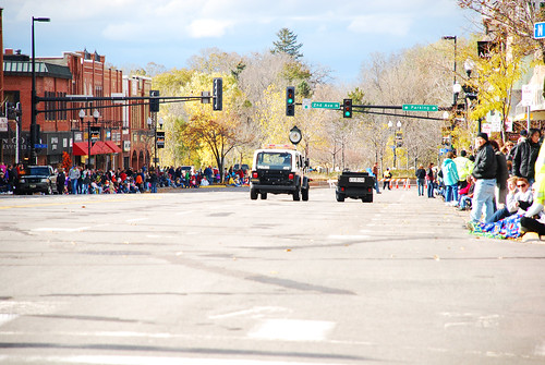 Main Street before the parade