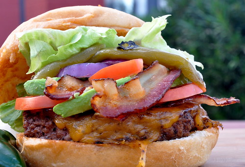 The Ultimate Southwest Burger
