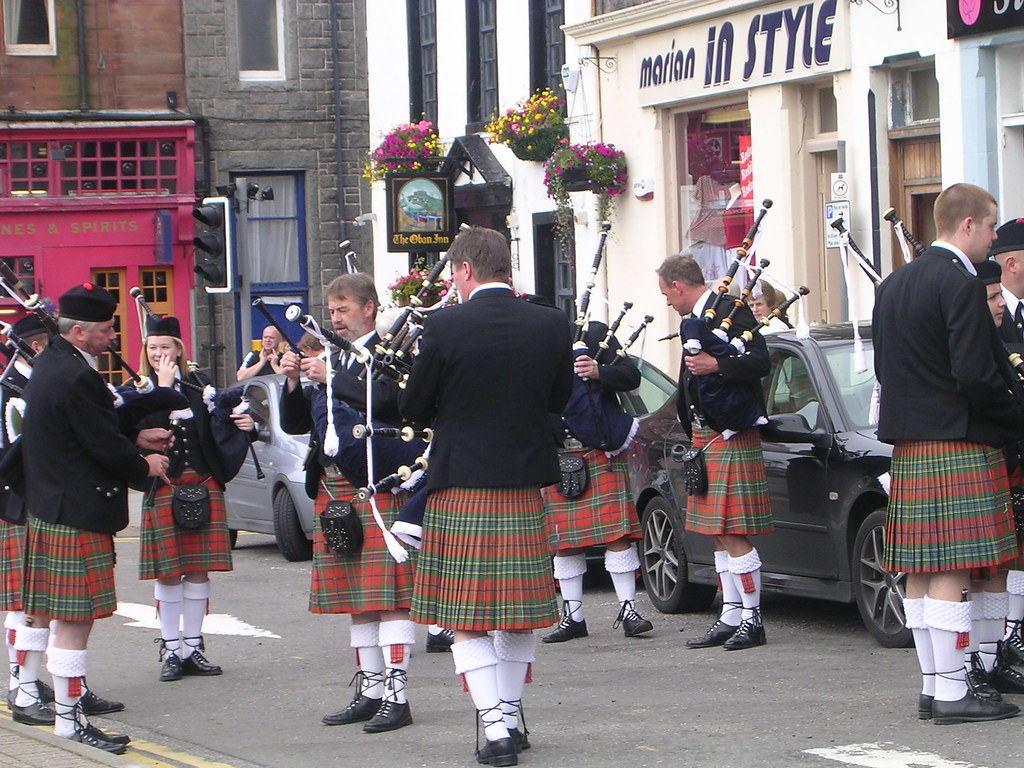 Highland Games Parade