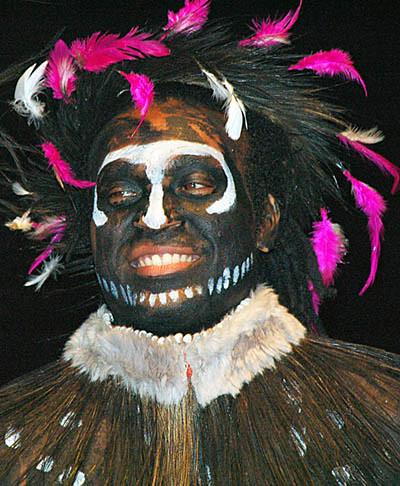 Papuan tribesman