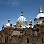 Cuenca: Vista lateral de la Catedral de La Inmaculada