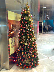 Canary Wharf Christmas Tree