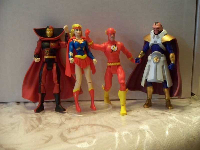 Crisis on Infinite Earths Figures