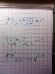 プレピー 、Non-Nonsense、セーラーカジュアルスリム万年筆 の筆跡