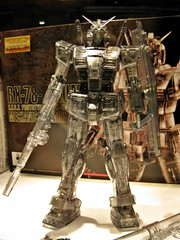 AFA09 (nighteye) Tags: mechanical version mg clear gundam 2009 bandai 1100 smoked rx782 animefestivalasia afa09