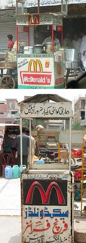 巴基斯坦街头的M记 | Jandan.net