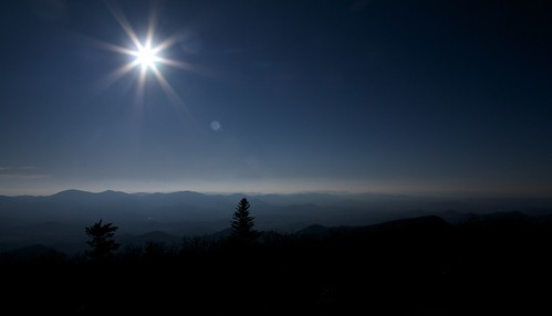 Sun Over the Smokey Mountains