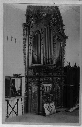 Convento de Santa Fe, órgano