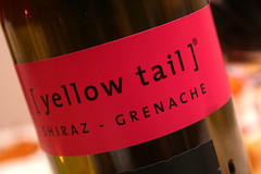 yellow tail shiraz thanks 2009b (Brendan O's) Tags: macro bottle wine shiraz winebottle alchohol yellowtail grenache shirazgrenache