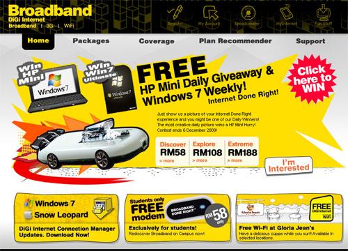 Digi Broadband Extreme plan