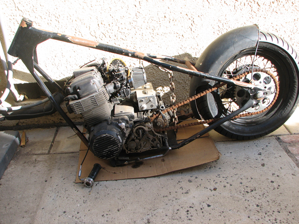 73\' CB750 Project (First Time Build)