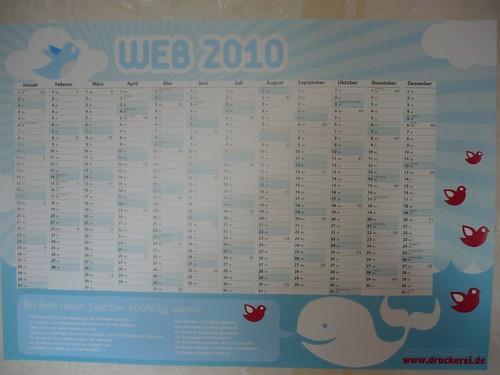 kalender. web 2010