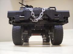 Front low view (formula_bird) Tags: truck lego military turret aa halftrack maxon m3halftrack