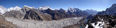 Panorama from Gokyo Ri