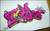 Graffiti Art Sketches With Color Art Graffiti Design Sketch