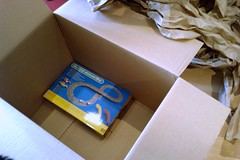 Amazon's Oversized Box (Andrew Mason) Tags: christmas amazon box gift present packaging